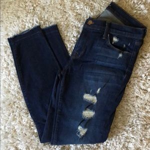 J Brand distressed denim jeans